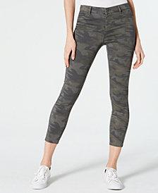 Vanilla Star Juniors' Printed Skinny Ankle Jeans