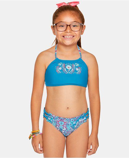 Summer Crush Big Girls Princess Bikini
