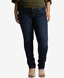 Plus Size Elyse Straight-Leg Jeans