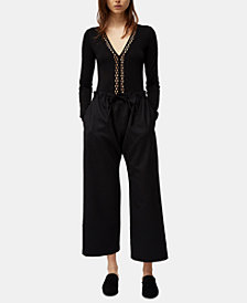 French Connection Rosamonde Jersey Bodysuit