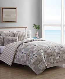 VCNY PolyGalon 5-Pc Reversible Bedding Comforter Sets