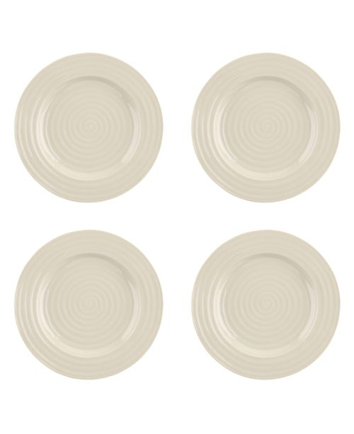 Portmeirion Sophie Conran Pebble Luncheon Plate  Set of 4