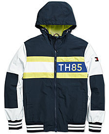 Tommy Hilfiger Adaptive Men's Bayport Windbreaker with Magnetic Zipper