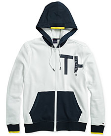 Tommy Hilfiger Adaptive Men's Coastal Sweatshirt with Magnetic Zipper