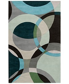 Surya Forum FM-7157 Dark Green 2' x 3' Area Rug