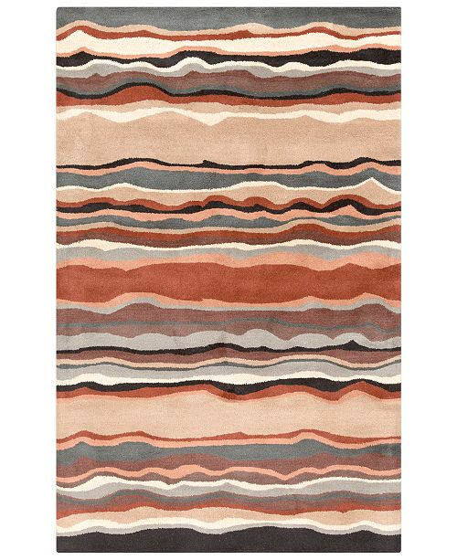 Surya Forum FM-7192 Tan 6' x 9' Area Rug