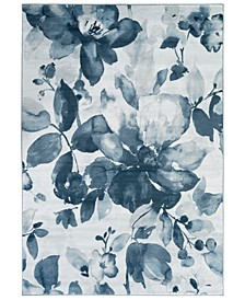 "Nova NVA-3014 Denim 7'8"" x 10'6"" Area Rug"
