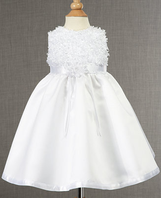 Lauren Madison Baby Dress, Baby Girls Soutache Christening