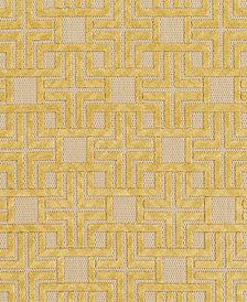 "Surya Portera PRT-1057 Mustard 18"" Square Swatch"