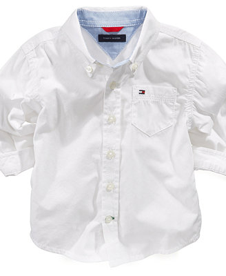 Tommy Hilfiger Baby Boys Classic Button Down Shirt