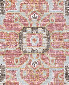 "Surya Germili GER-2318 Pale Pink 18"" Square Swatch"