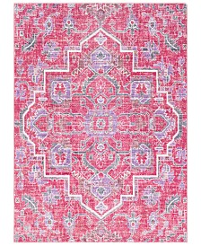 "CLOSEOUT! Surya  Germili GER-2320 Bright Pink 3'11"" x 5'7"" Area Rug"