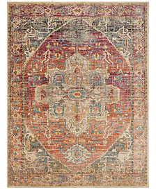 "Loloi Javari JV-08 Berry/Sunrise 2'6"" x 10' Runner Area Rug"