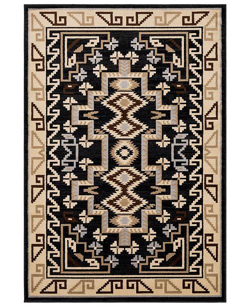 "Surya Paramount PAR-1088 Black 8'10"" x 12'9"" Area Rug"