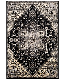 Paramount PAR-1090 Black 2' x 3' Area Rug