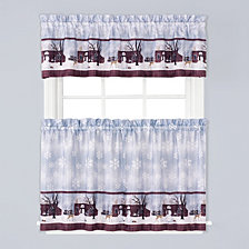 Friendly Beasts Valance