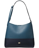 7e9ed8e1f82f MICHAEL Michael Kors Junie Bicolor Pebble Leather Hobo