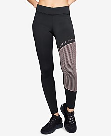 Under Armour ColdGear® Colorblocked Fleece-Lined Leggings