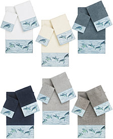 Linum Home Mia Embroidered Turkish Cotton Bath Towels