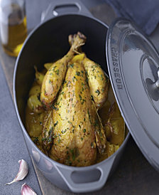 Chasseur French Enameled Cast Iron 4.2 Qt. Oval Dutch Oven