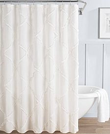 Laura Ashley Adelina 100% Cotton Shower Curtain