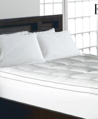 ELLE® 1200 Thread Count Cotton Blend 2 Inch Gusseted Twin Mattress Pad