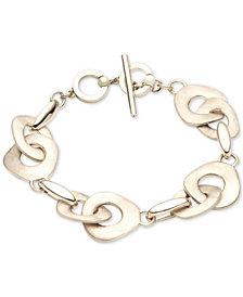 Carolee Gold-Tone Large Link Bracelet
