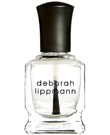 Deborah Lippmann Hard Rock Nail-Strengthening Top & Base Coat, 0.5 fl. oz.