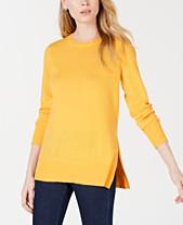0d50df4c3b Gold Women s Sweaters - Macy s
