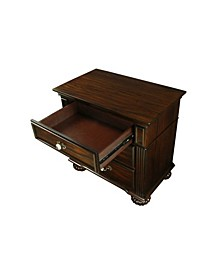 Damos 3-drawer Nightstand