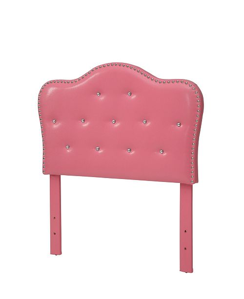Furniture of America  Karla Twin Tufted Headboard and Bench Collection