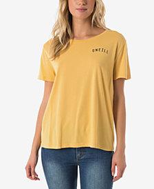 O'Neill Juniors' Cotton Surf Co. Graphic-Print T-Shirt