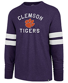 '47 Brand Men's Clemson Tigers Long Sleeve Scramble T-Shirt