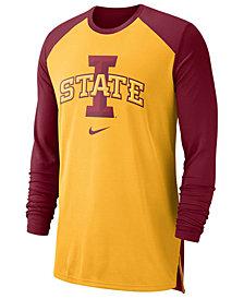 Nike Men's Iowa State Cyclones Breathe Shooter Long Sleeve T-Shirt