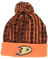 Authentic NHL Headwear Women s Anaheim Ducks Iconic Ace Knit Hat b18ea1c5fca4