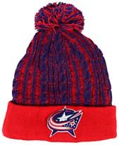 0520451f4178b2 Authentic NHL Headwear Women's Columbus Blue Jackets Iconic Ace Knit Hat