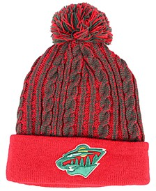 Women's Minnesota Wild Iconic Ace Knit Hat