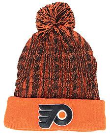 Authentic NHL Headwear Women's Philadelphia Flyers Iconic Ace Knit Hat