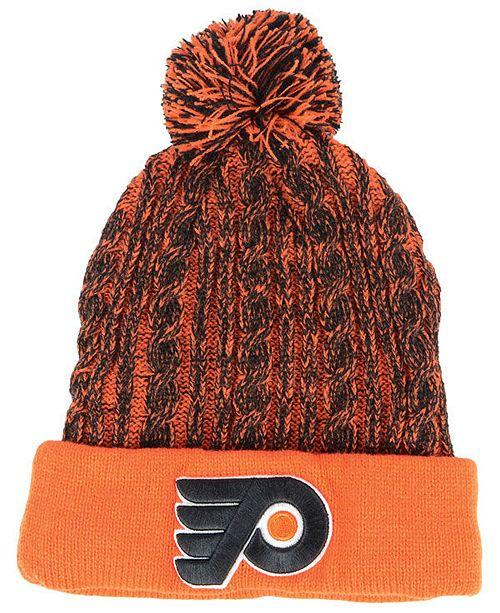 Authentic NHL Headwear Women s Philadelphia Flyers Iconic Ace Knit ... 63b186bcb