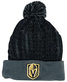 Authentic NHL Headwear Women's Vegas Golden Knights Iconic Ace Knit Hat