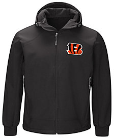 G-III Sports Men's Cincinnati Bengals First Down Soft Shell Jacket