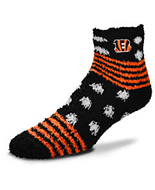 For Bare Feet Cincinnati Bengals Homegater Sleep Soft Socks