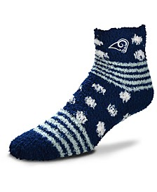 For Bare Feet Los Angeles Rams Homegater Sleep Soft Socks