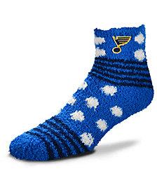 For Bare Feet St. Louis Blues Homegater Sleep Soft Socks