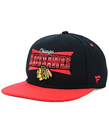 Authentic NHL Headwear Chicago Blackhawks Combo Emblem Snapback Cap