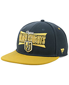 Authentic NHL Headwear Vegas Golden Knights Combo Emblem Snapback Cap
