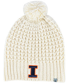 Top of the World Women's Illinois Fighting Illini Slouch Pom Knit Hat