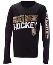 e5952e0b7 Outerstuff Vegas Golden Knights Break Lines Long Sleeve T-Shirt