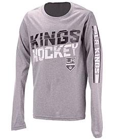 Los Angeles Kings Break Lines Long Sleeve T-Shirt, Big Boys (8-20)
