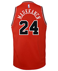 Nike Lauri Markkanen Chicago Bulls Icon Replica Jersey, Little Boys (4-7)